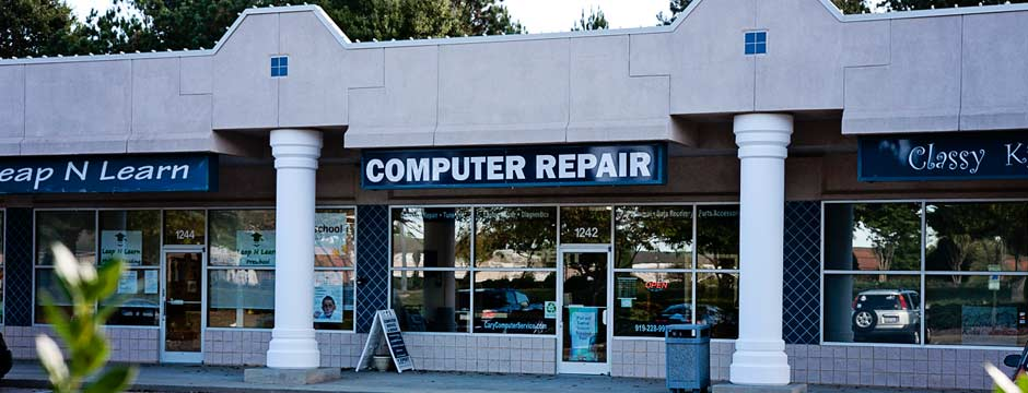 Computer Repair store located in Raleigh, NC